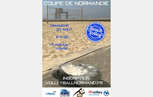 Coupe de Normandie de Beach Volley